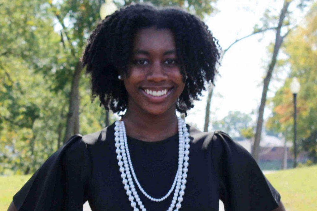 Ms. Freshman headshot at the Park