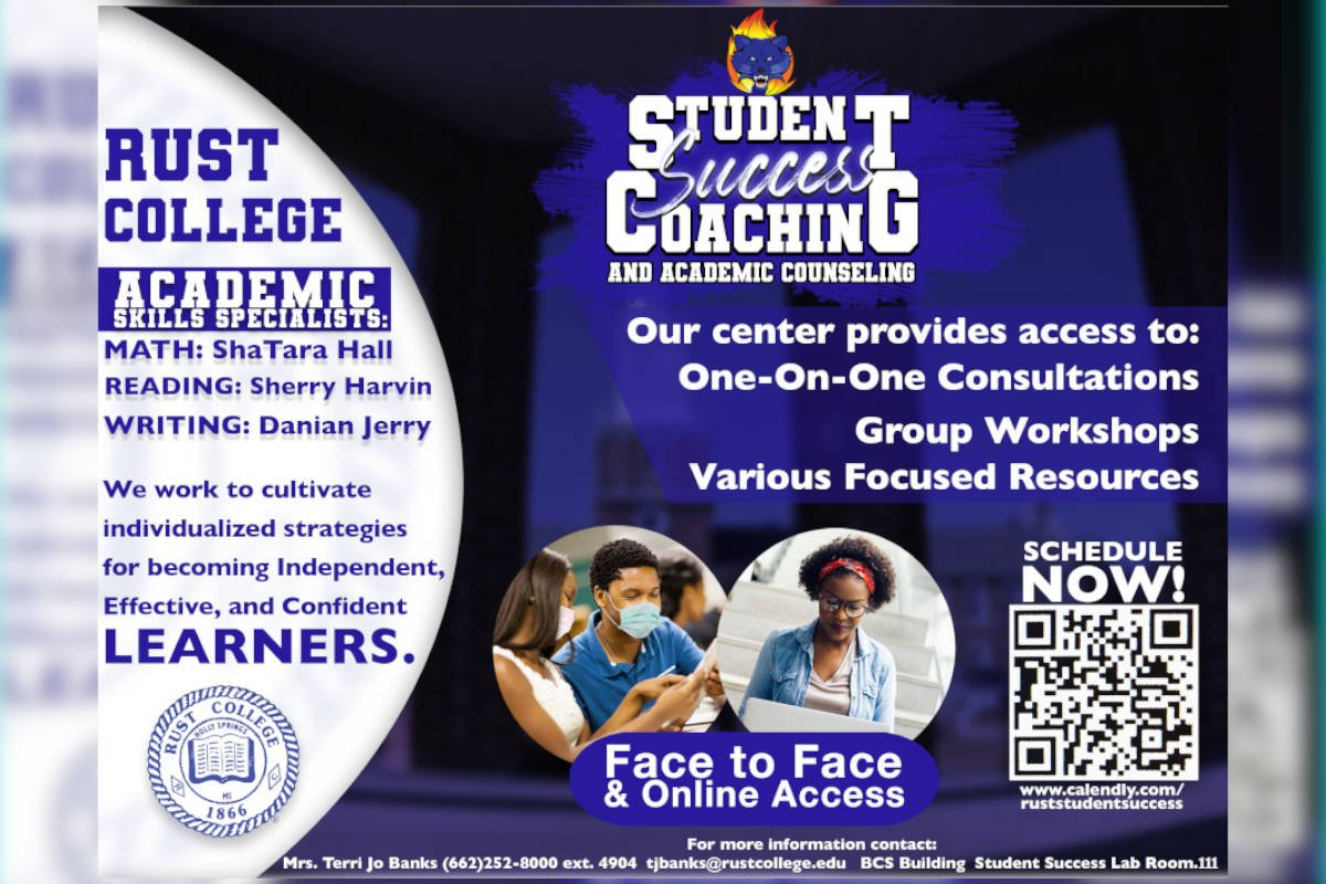 Rust College Student Success Counseling